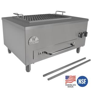 yakitori grill dual fuel