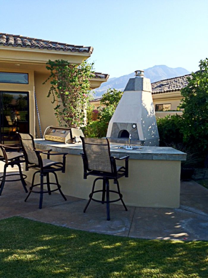 Toltec Option One Milano Pizza Oven Enclosure