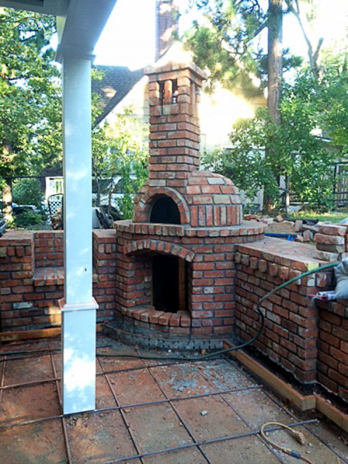 Milano Wood Fired Oven Lake Arrowhead, CA