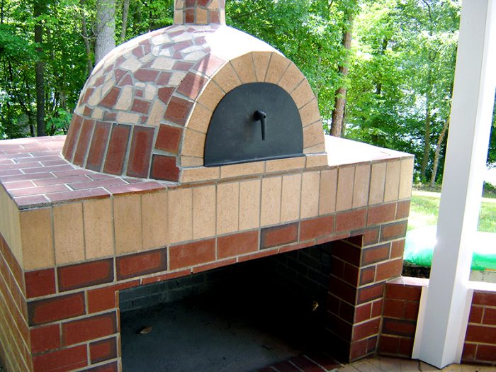 Milano Wood Fired Pizza Oven Fort Mill SC.