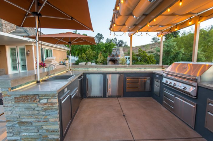 Outdoor Kitchen Temecula Wine Region