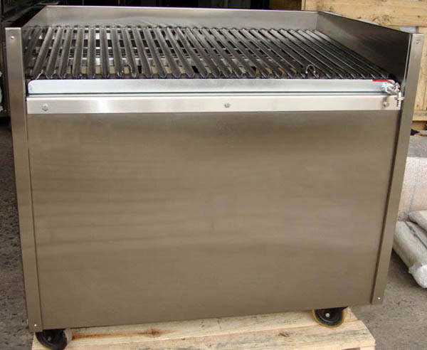 Restaurant Kitchen Grill charcoal parrilla for restaurant argentine style grill with angled
