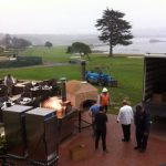 Outdoor Pizza Oven Catering