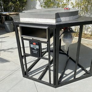 Pizza Oven with Gas Burner