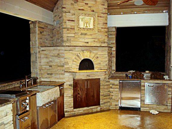 Rocky Point, NY Toscano Pizza Oven