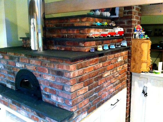 Toscano Oven With Wildwood Pagoda Enclosure East Hampton, NY