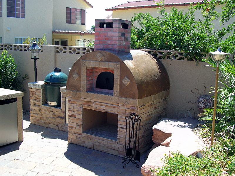 wood fired pizza oven pebble beach ca
