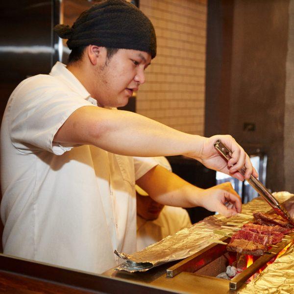 Charcoal Yakitori. Yakitori BBQ, Yakitori