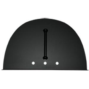 Black Steel Oven Door