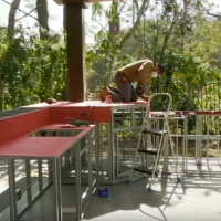 Build Outdoor Kitchen In A Day