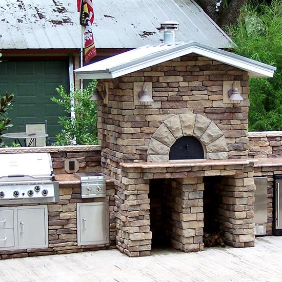 Wildwood Ovens Outdoor Kitchen Design