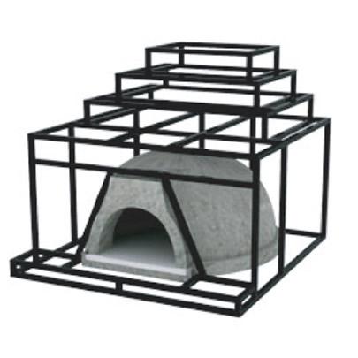 Pagoda Design Pizza Oven Enclosure