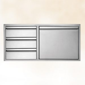 Three-Drawer Door-Combo 36""