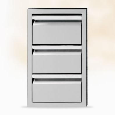 Triple Storage Drawers 13″